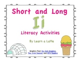 Short and Long I Literacy Activities & Five Little Pigs Story Bundle