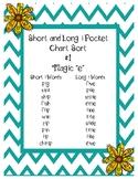 Short and Long I Pocket Chart Sort  #1