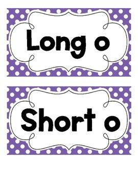 Short and Long O Sort
