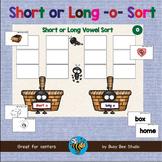CVC GAMES: Short and Long O Word Sort (CVC and CVCE)