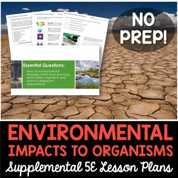 Short and Long Term Environmental Impacts - Supplemental Lesson - No Lab