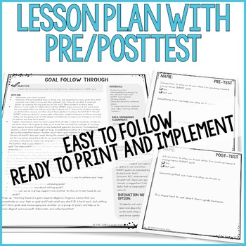 Short- and Long-Term Goal Setting/Follow Through Classroom Guidance Lesson