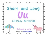 Short and Long U Literacy Activities (Game, Center Activities & More!)