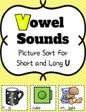 Short and Long U Picture Sort