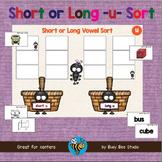 ESL GAMES: Short and Long U Word Sort (CVC and CVCE)