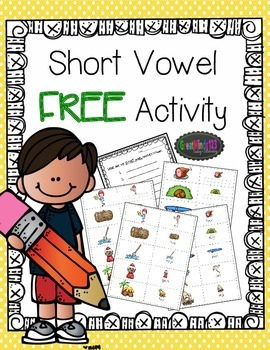 Short and Long Vowel Activities Free Sample
