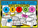 Short and Long Vowel Activities / Stations