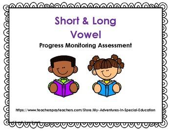 Short and Long Vowel Assessment