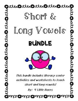 Short and Long Vowel BUNDLE!