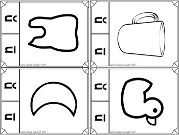 Short and Long Vowel Clip Cards