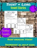 Short and Long Vowel Cut & Sort