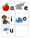 Short and Long Vowel Flashcards or Anchor Chart