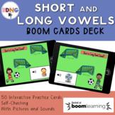 Short and Long Vowel Sort  Boom Cards Deck