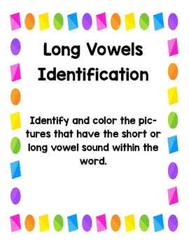 Short and Long Vowel Identification