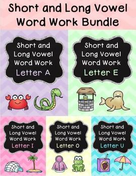 Short and Long Vowel Pack Bundle