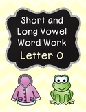 Short and Long Vowel Pack - Letter O