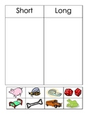 Short and Long Vowel Picture Sort