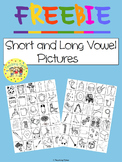 Short and Long Vowel Pictures FREEBIE