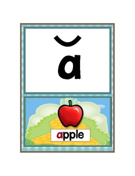 Short and Long Vowel Posters - Oz Theme