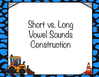 Short and Long Vowel PowerPoint