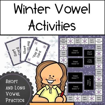 Winter Vowel Practice