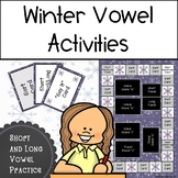 Winter Vowel Activities