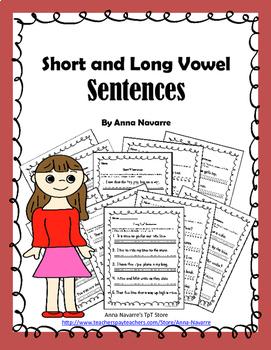 Short and Long Vowel Sentences