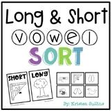 Short and Long Vowel Word Sort Station