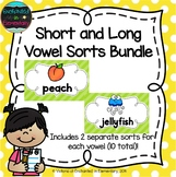 Short and Long Vowel Sorts Bundle