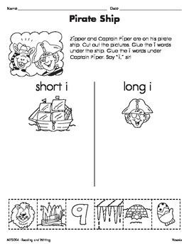 Short and Long Vowel Sounds 2 (CCSS RF.2.3a)