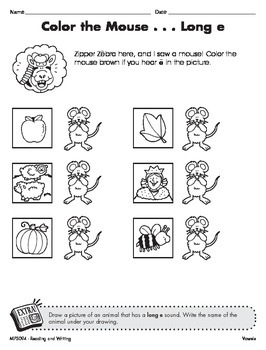 Short and Long Vowel Sounds 2 (CCSS RF.2.3a)
