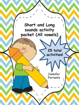 Short and Long Vowel Sounds Bundle