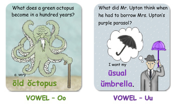 Short and Long Vowel Sounds and Consonant-Vowel Patterns Bookmark