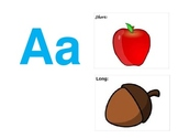 Short and Long Vowel Sounds Posters