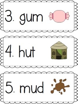 Short and Long Vowel Sounds Word Hunt Pack - Common Core Aligned