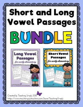 Short and Long Vowel Stories for Elementary