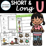 Short and Long Vowel U Sorting: CVC and CVCE Worksheets and Activities