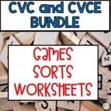 Short and Long Vowel Wild Card Game Bundle