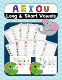 Short and Long Vowel Words and Sentence Building BUNDLE