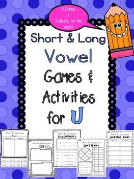 Short and Long Vowel U