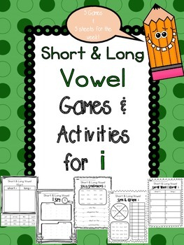 Short and Long Vowel I