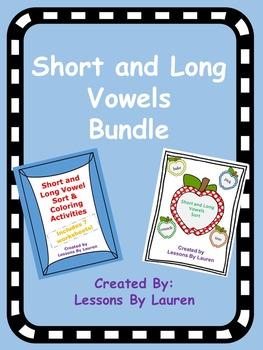 Short and Long Vowels Bundle