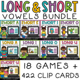 Short and Long Vowels CVC and CVCe Words Digital Activitie