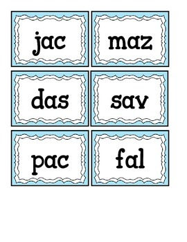 Short and Long Vowels Intervetion Pack