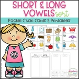 Short and Long Vowels ~ Pocket Chart Activities ~
