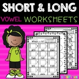 Short and Long Vowels | Phonics Worksheets