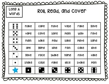 Short and Long Vowels- Read Roll Cover