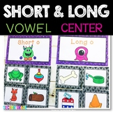 Long and Short Vowels Sort
