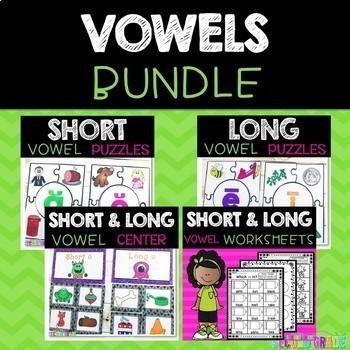 Short and Long Vowels Worksheets