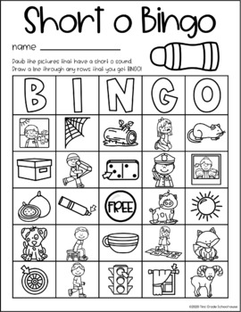 Short and Long Vowels Word Work Bundle